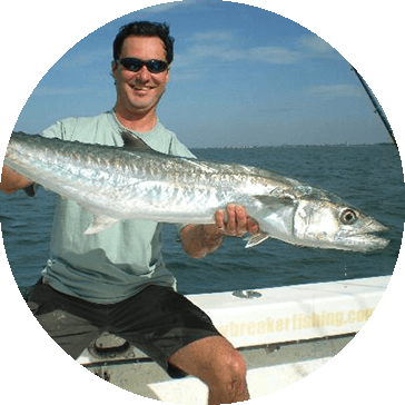 catching kingfish in South Florida